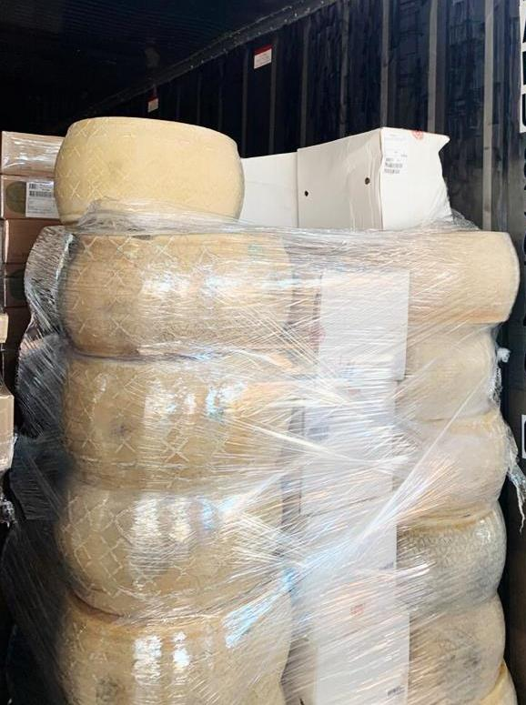 Russian Customs Finds 70 Tons of Cheese Smuggled from the EU