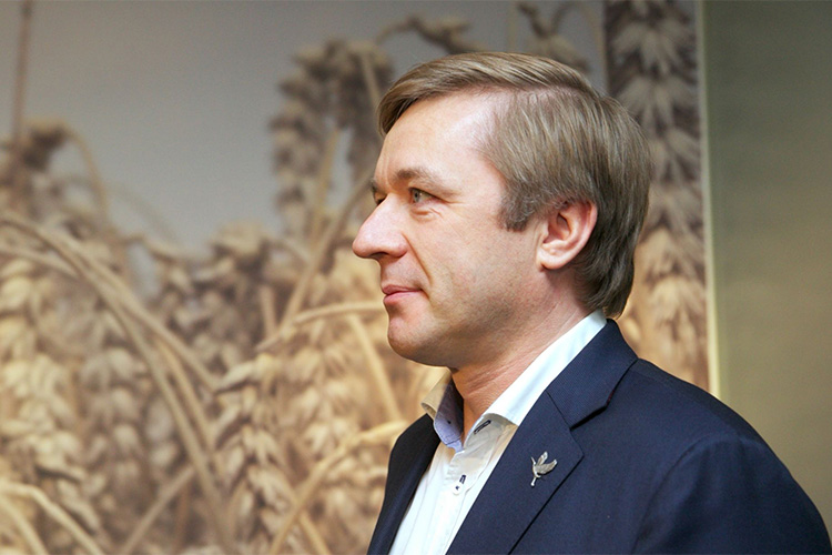 Ramunas Karbauskis, Chairman of Lithuania's ruling Farmers and Greens Union. Credit: Julius Kalinskas / 15min