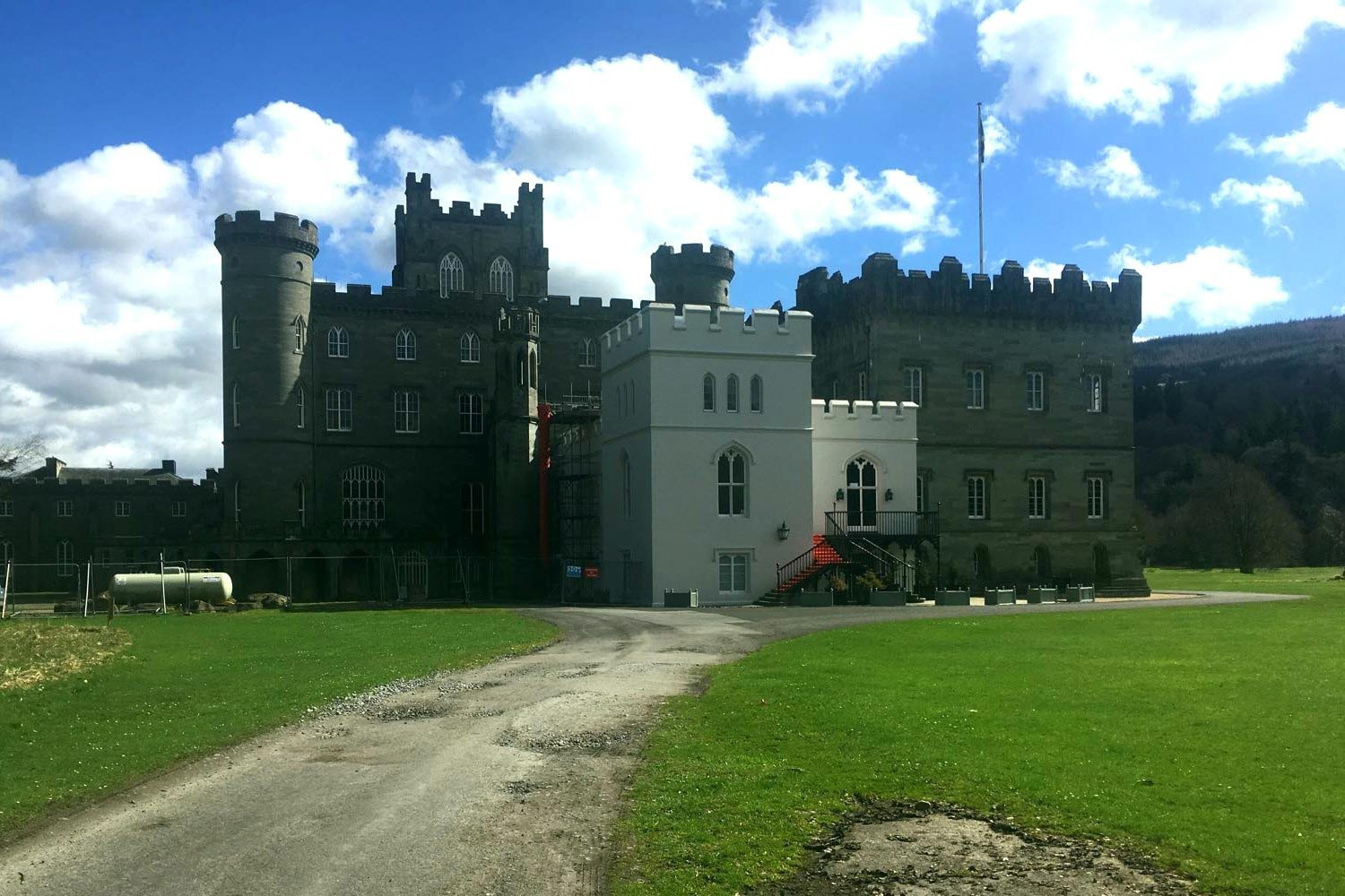 Taymouth Castle, Scotland, is just one UK property which is appears linked to Dabaiba's offshore empire. Credit: Sara Farolfi